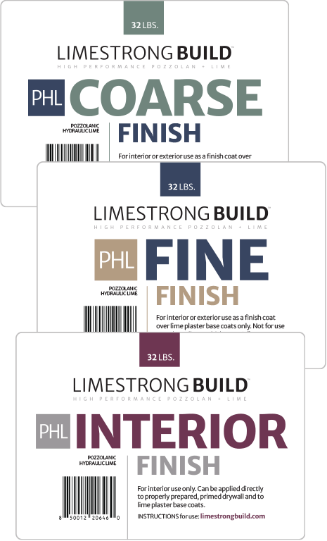 product: limestrong build finish coat