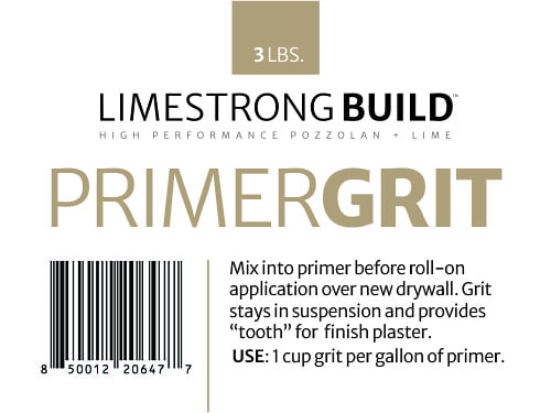 product: limestrong build primer grit