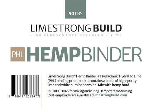 product: hemp binder for hempcrete applications