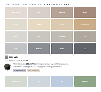 the limestrong standard color grid